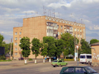 Skvira apartment building